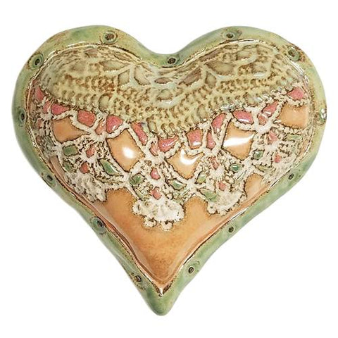 Sweet Heart Ceramic Wall Art