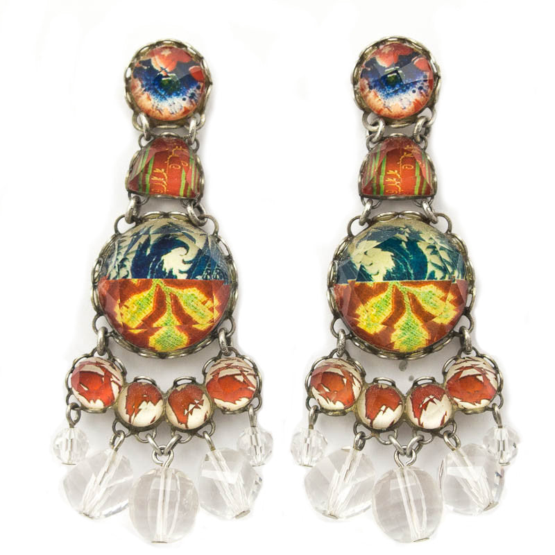 Canyon Trail Radiance Collection Earrings by Ayala Bar