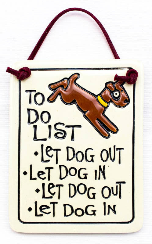 To Do List Charmer Ceramic Tile