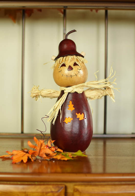 Winfield Scarecrow Gourd in Multiple Sizes
