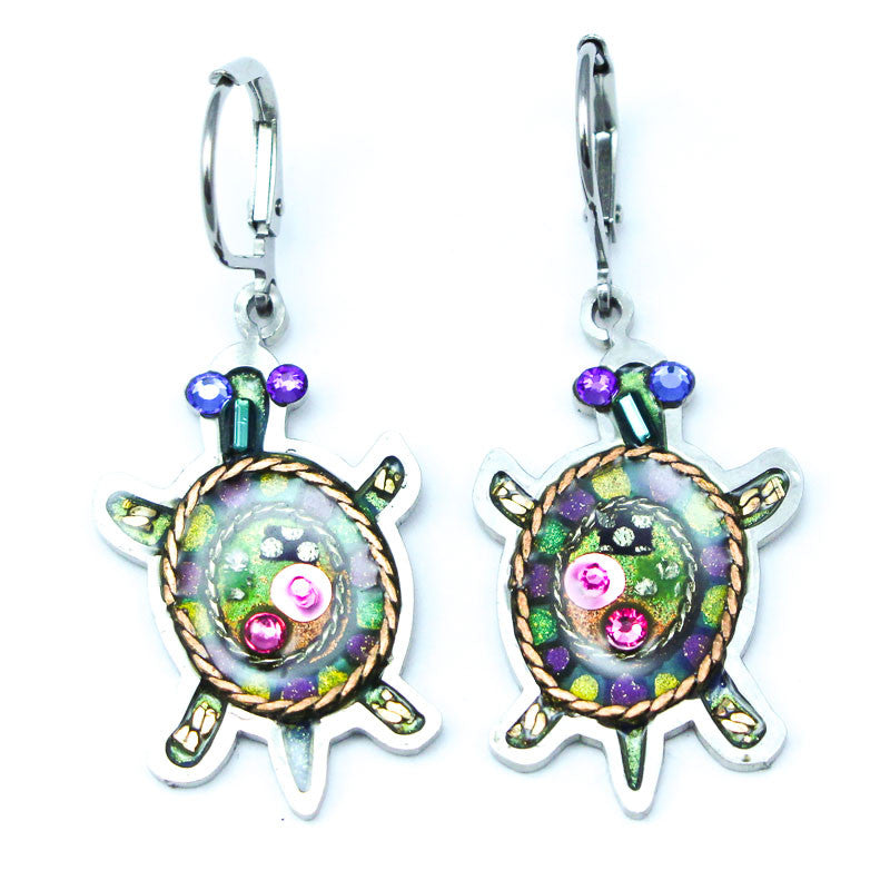 Jewel Turtle Earrings