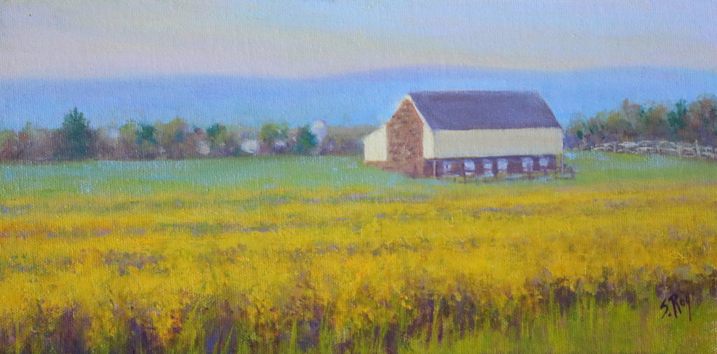 McPherson Barn by Simonne Roy