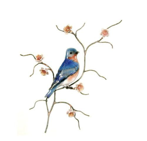 Male Bluebird, Single Facing Right Wall Art by Bovano Cheshire