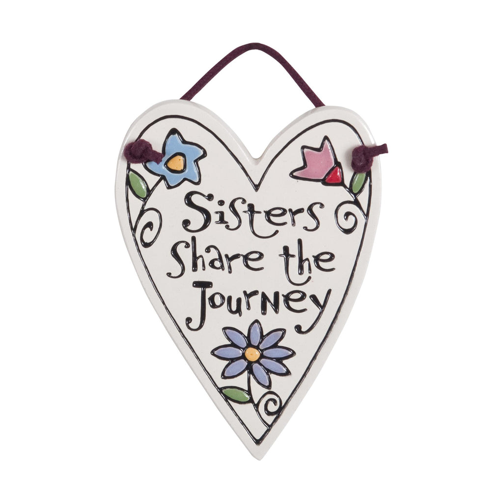 Sister's Share Charmer Ceramic Tile