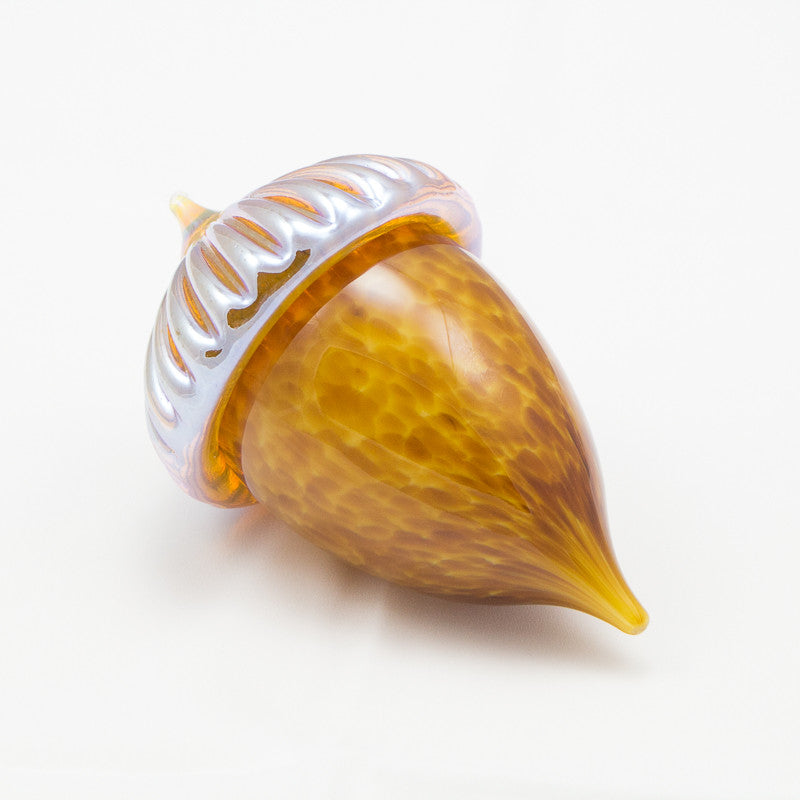 Handblown Glass Acorn in Multiple Colors