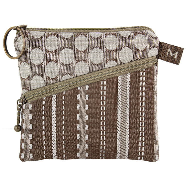 Maruca Roo Pouch in Ticking