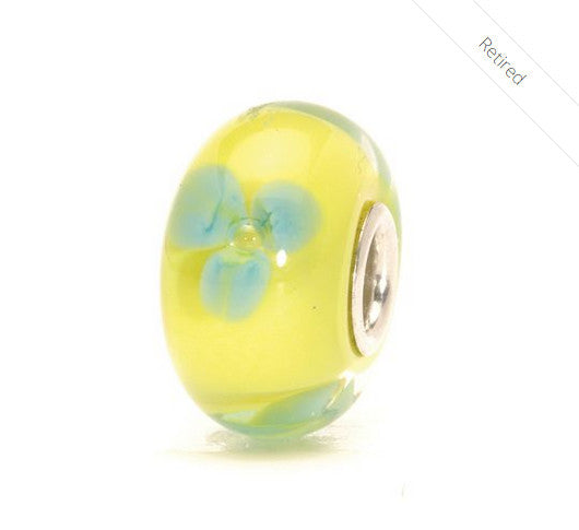 R-Turquoise Flower by Trollbeads