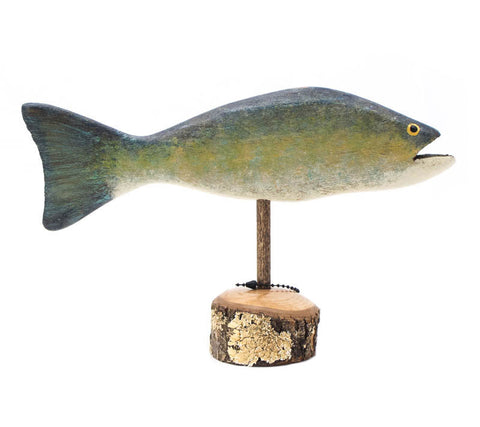 Trout Small Pedestal Fish by Chris Boone