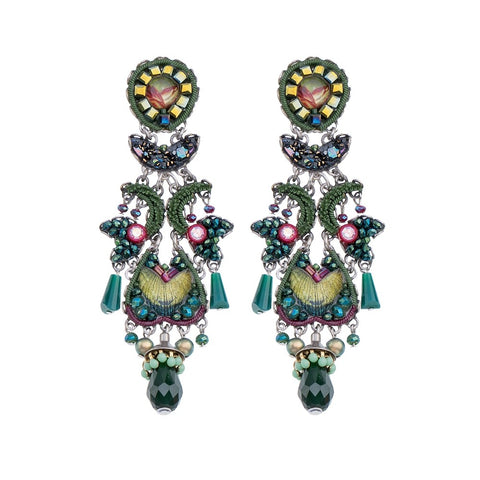Summer Lawns Sunrise Earrings by Ayala Bar