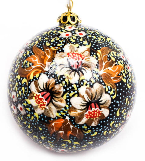 Daffodil Delight Large Bulb Ceramic Ornament