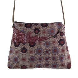 Maruca Sparrow Handbag in Embossed Raisin