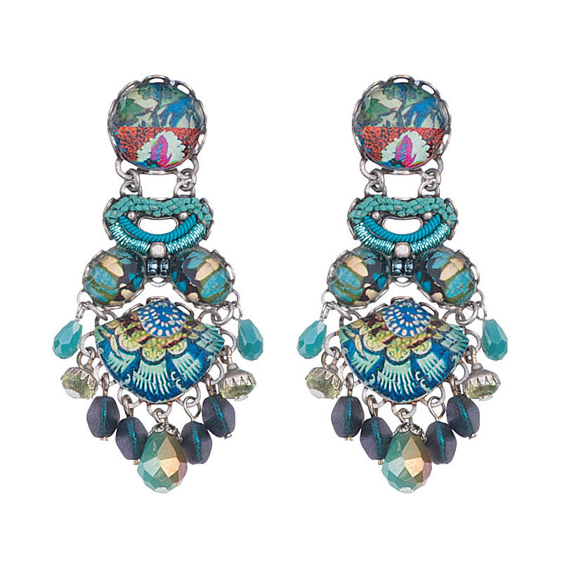 Caspian Breeze Radiance Collection Earrings by Ayala Bar