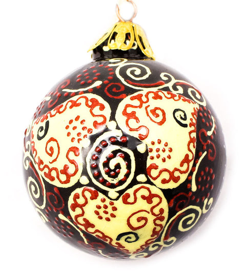 Adorned Affection Small Bulb Ceramic Ornament