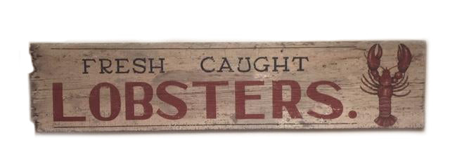 Fresh Caught Lobsters Americana Art