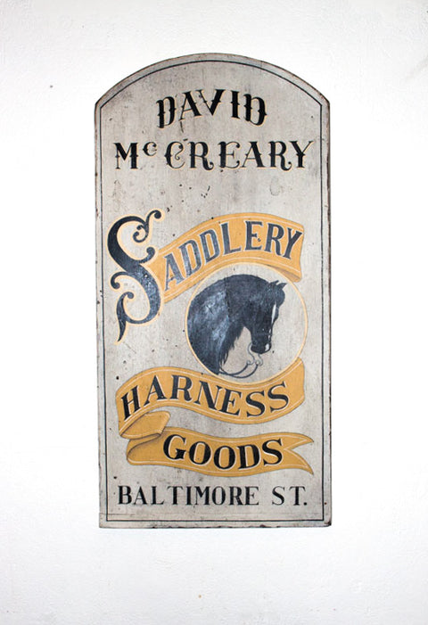 David McCreary, Saddlery and Harness Goods Americana Art