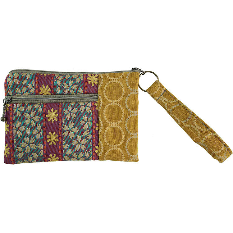 Maruca Beetle Wristlet in Trellis Jewel