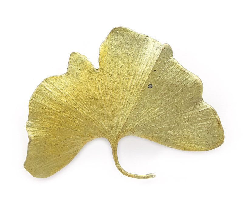 Large Ginkgo Brooch
