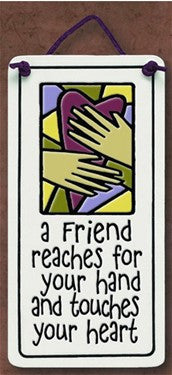 Reaches For Your Hand Charmer Ceramic Tile