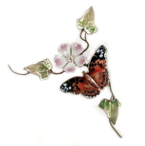 American Painted Lady Wall Art by Bovano Cheshire