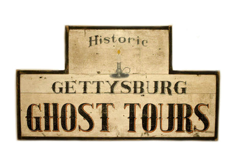 Gettysburg Ghost Tours in White (B) Americana Art