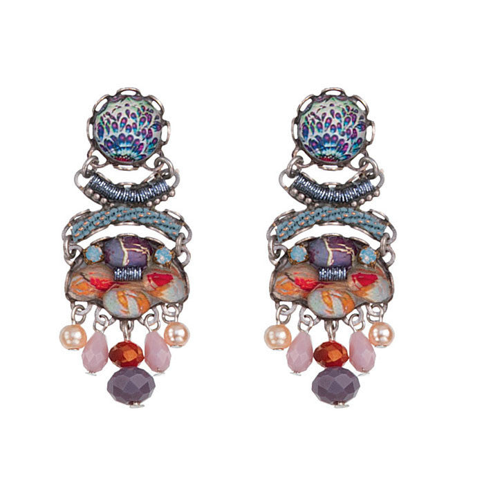 Angelonia Mercury Radiance Collection Earrings by Ayala Bar