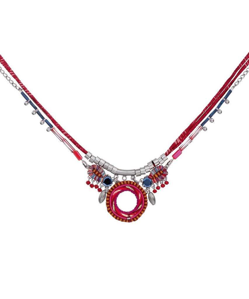Crimson Voyage Adrian Necklace by Ayala Bar