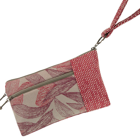Maruca Beetle Wristlet in Kelp Red