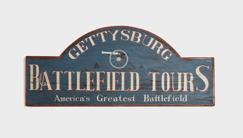 Gettysburg Battlefield Tours, Round Top with Canon Americana Art
