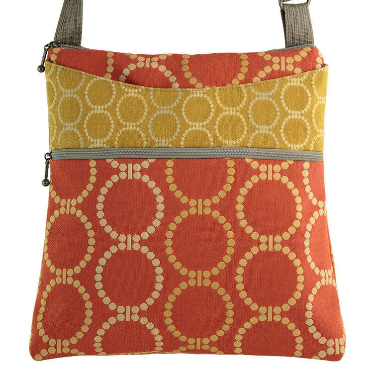 Maruca Spree Handbag in Linked Orange