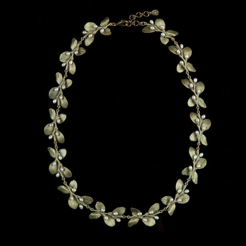 Irish Thorn Leaf Necklace