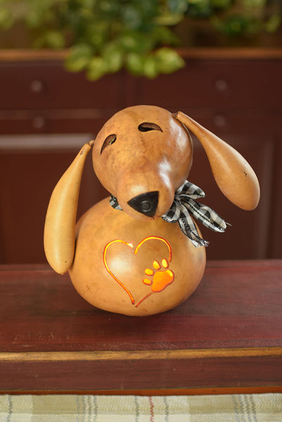 Biscuit Dog Gourd - Available in Multiple Sizes