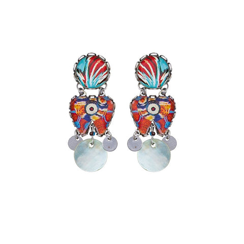 Afro-Desia Yukon Earrings by Ayala Bar
