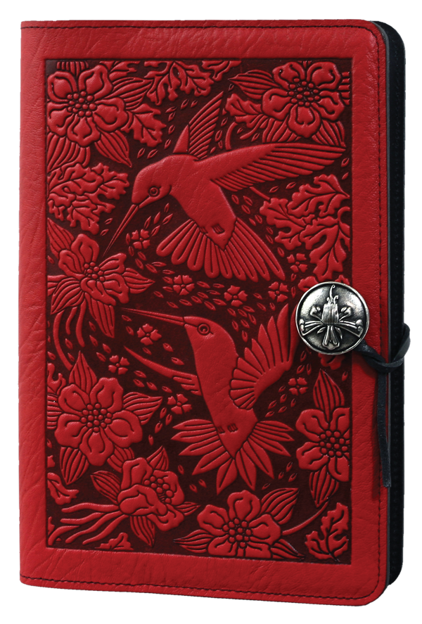 Hummingbird Large Journal in Red