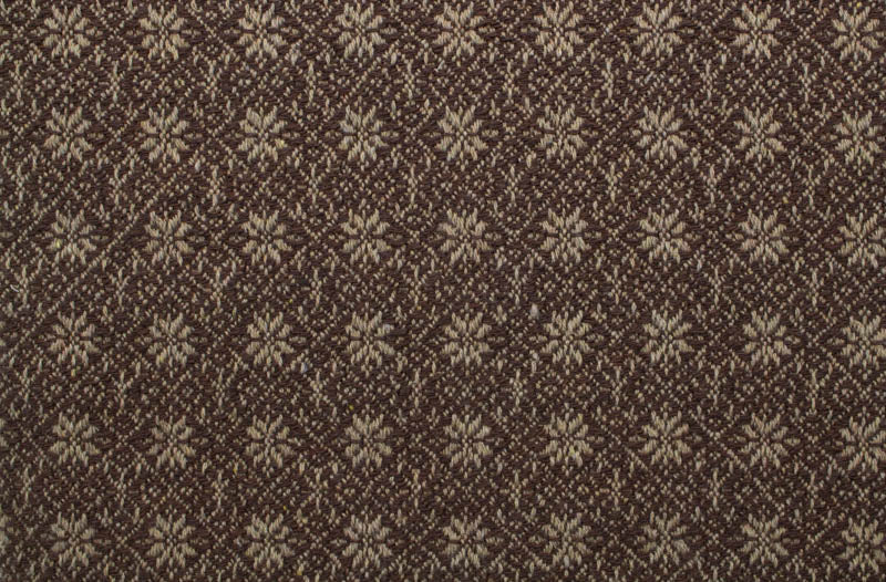 Primitive Star/Flourish Runner in Brown and Hemp