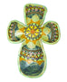 Ashely's Medium Cross Ceramic Wall Art