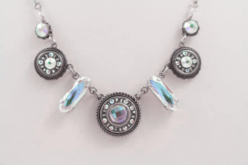 Aurora Borealis La Dolce Vita Mix Necklace by Firefly Jewelry