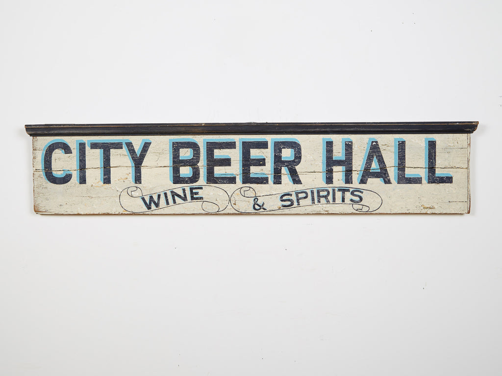 City Beer Hall, White Americana Art
