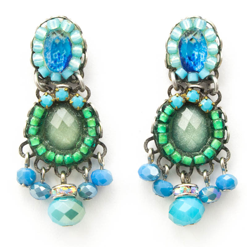 Garden Meditation Classic Collection Earrings by Ayala Bar