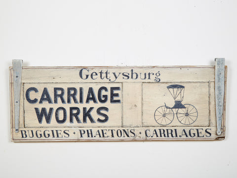 Gettysburg Carriage Work Americana Art