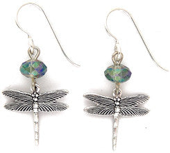 Dragonfly A Earrings by Desert Heart