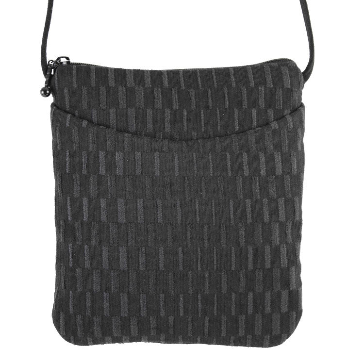 Maruca Cupcake Handbag in Basket Black