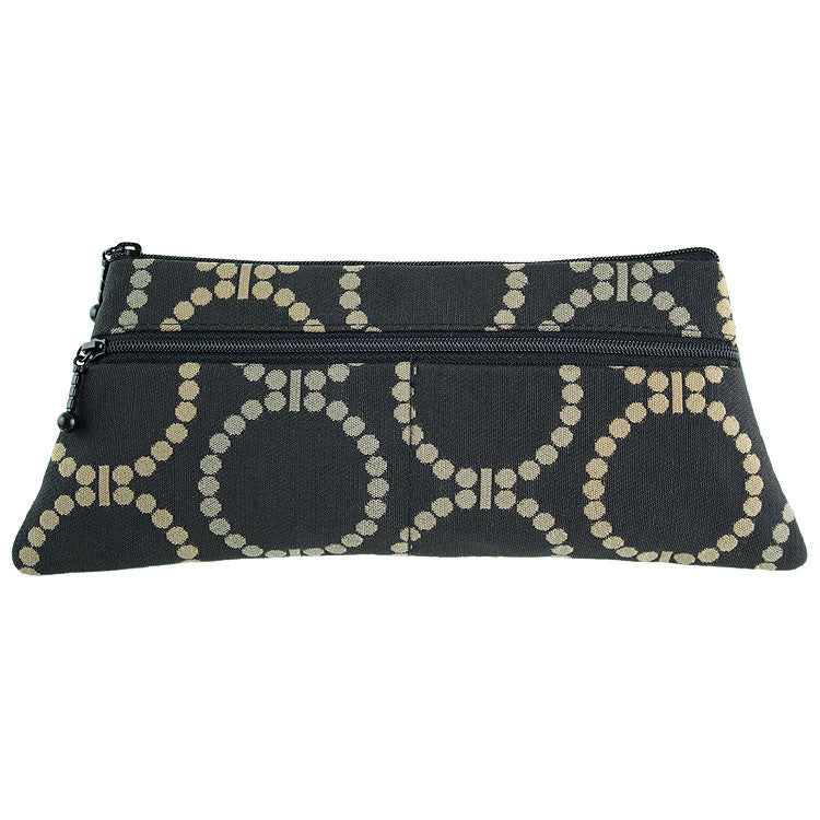 Maruca Penny Wallet in Linked Black