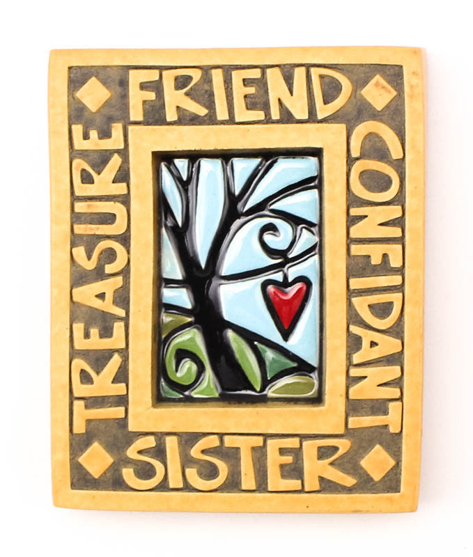 Sister Small Thick Ceramic Tile