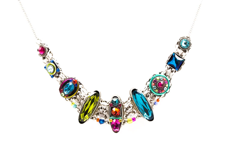 Multi Color Petite Dolce Vita Necklace by Firefly Jewelry