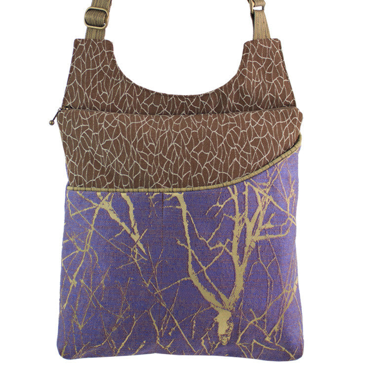 Maruca Cafe Sling Handbag in Branch Wisteria