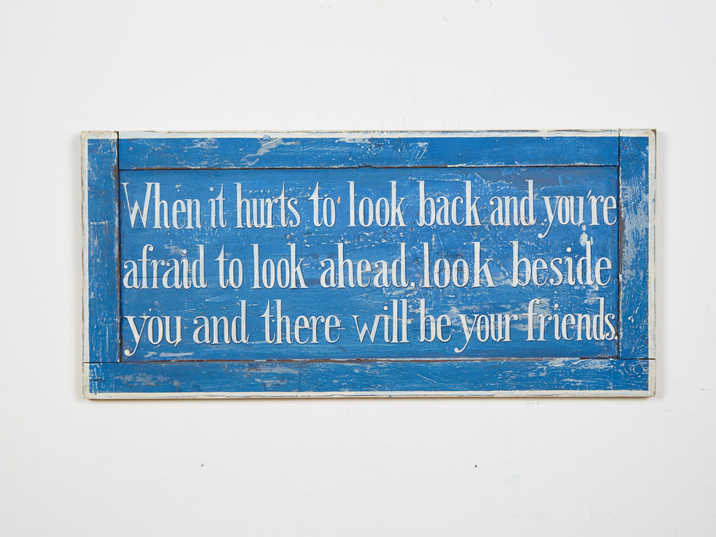 Friends Quote Americana Art