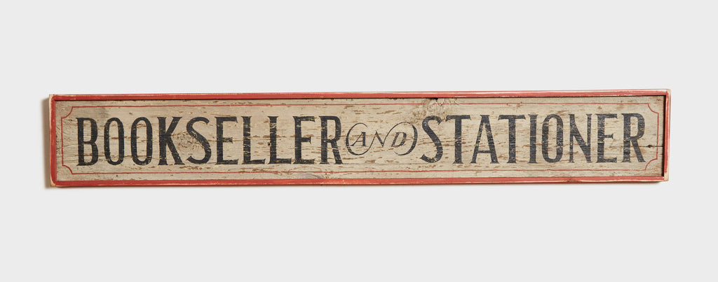 Bookseller and Stationer Americana Art