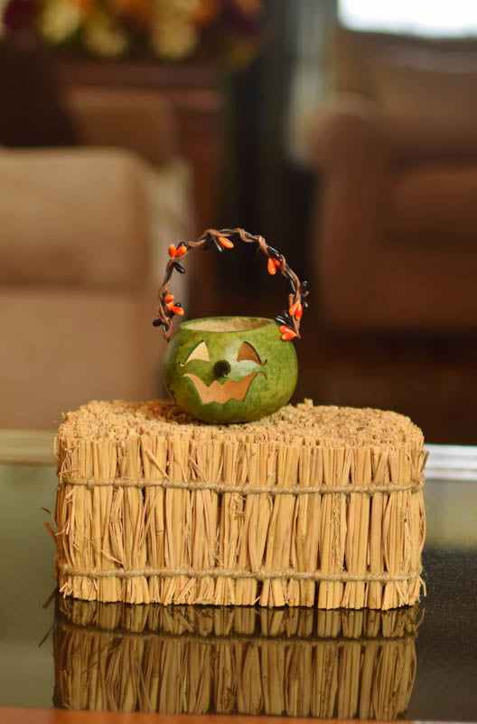 Party Treat Witch Basket Gourd