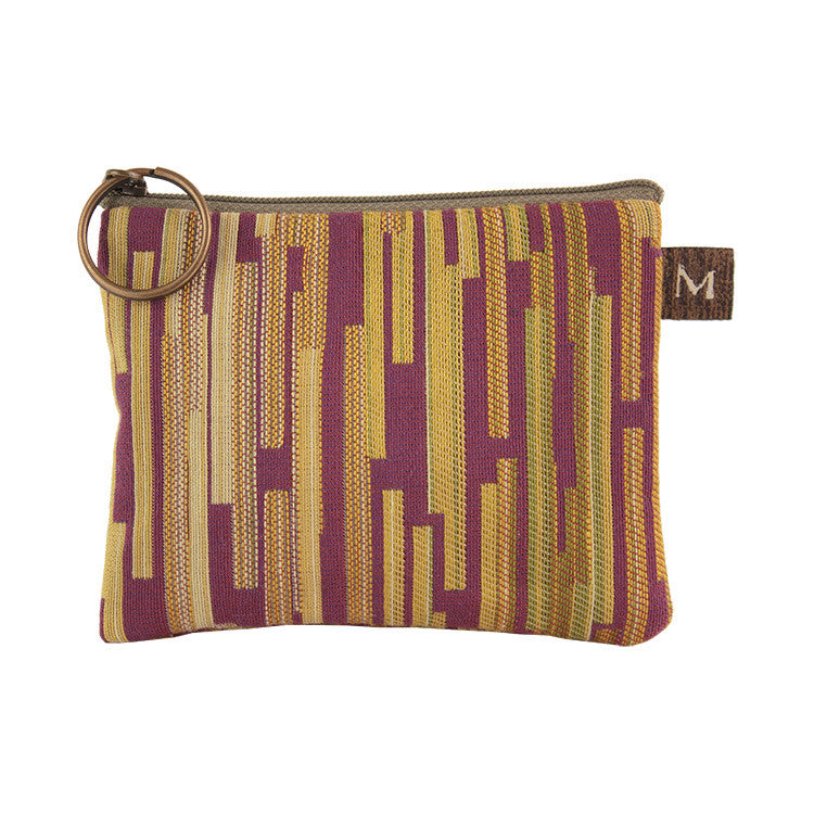 Maruca Coin Purse in Boxcar Plum