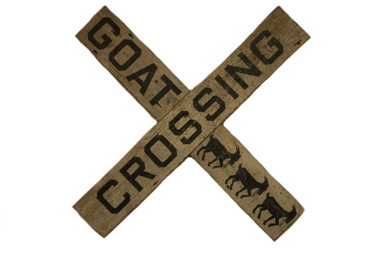 Goat Crossing Americana Art